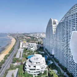 Невероятное здание — горная гряда от MAD Architects