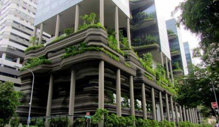 Parkroyal: невероятный отель-сад