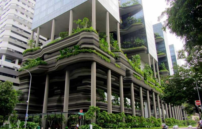 Parkroyal невероятный отель-сад