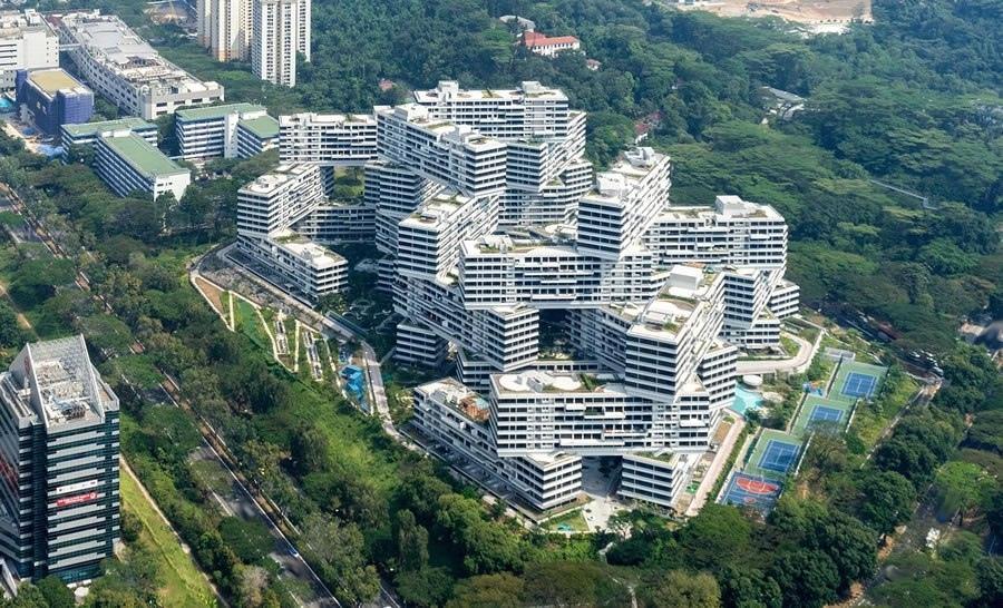 The Interlace в Сингапуре
