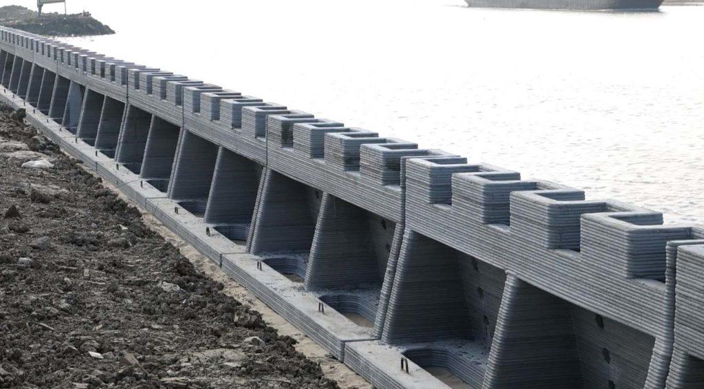 В Китае построили самое большое в мире сооружение по технологии 3D печати Winsun