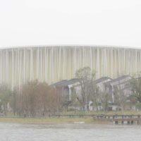 В Китае завершено строительство театра в «бамбуковом лесу»
