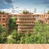 В России планируется построить первый «деревянный» квартал с многоэтажной застройкой