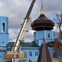 В Рязанской области завершается строительство храма по технологии ЛСТК