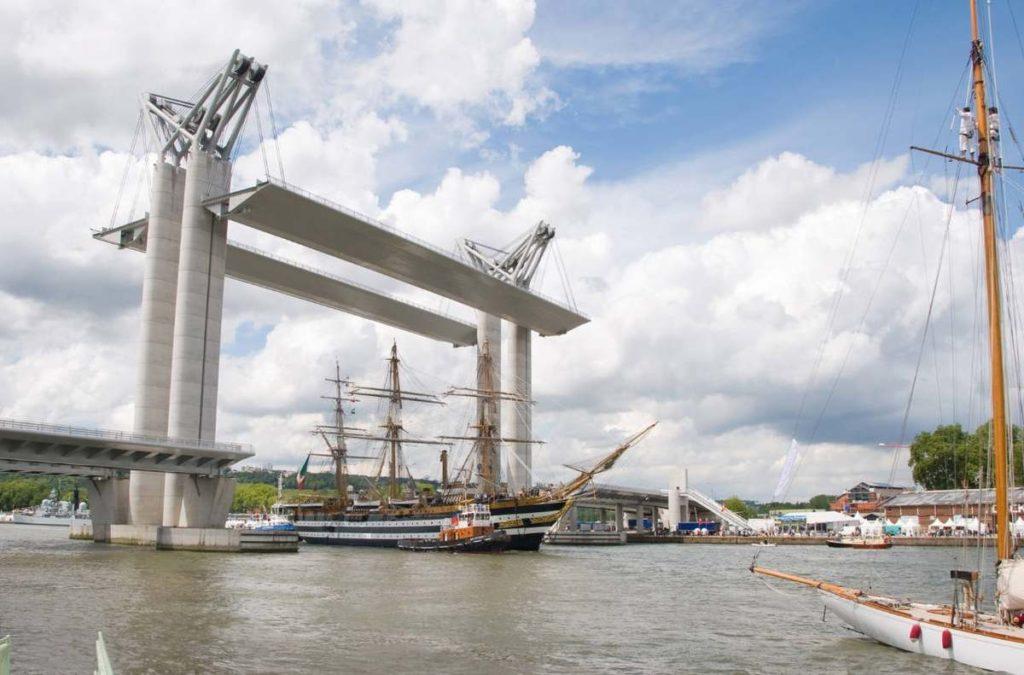 Вертикально-подъемный мост Гюстава Флобера