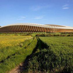 Zaha Hadid Architects разрабатывает проект деревянного стадиона в Великобритании