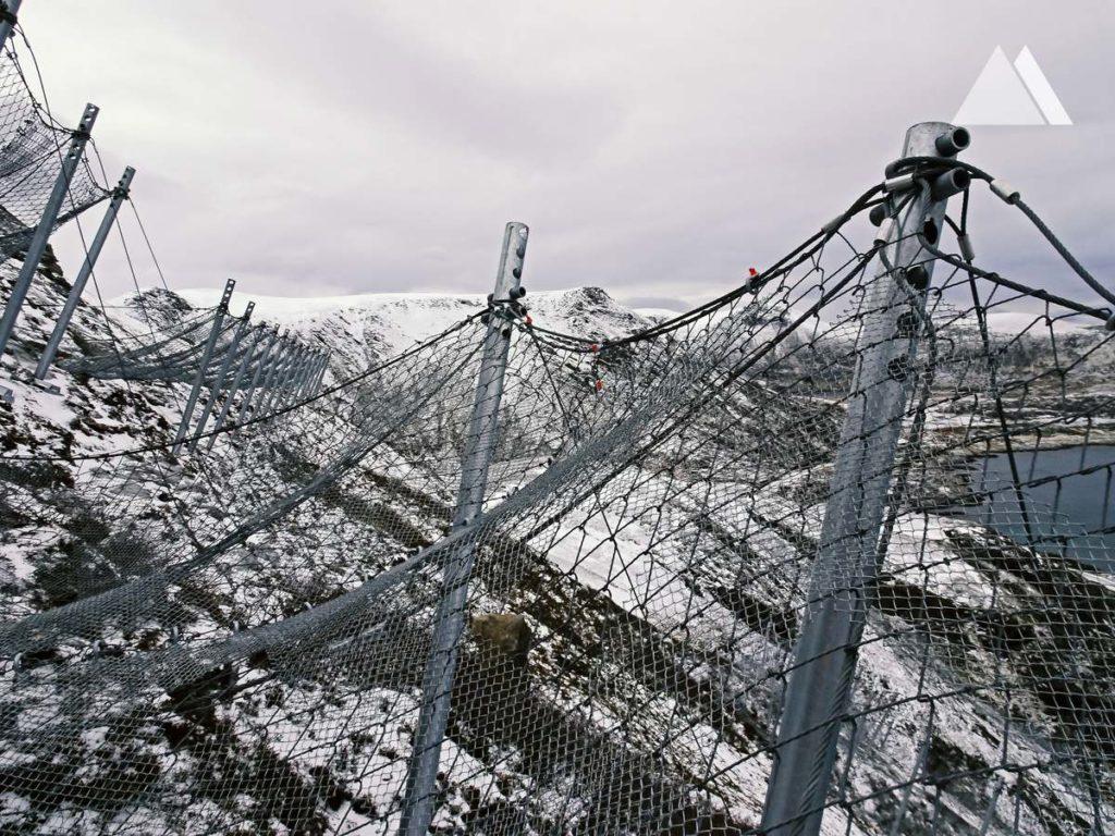 Защитная система GEOBRUGG SPIDER в Норвегии