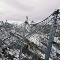 Защитная система Geobrugg SPIDER® AVALANCHE в Норвегии