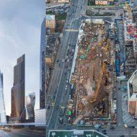 В Москва-сити возводится самый высокий жилой небоскреб Европы