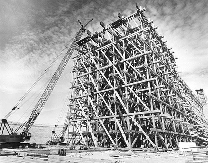 Atlas-1 - одна из самых масштабных деревянных конструкций в мире