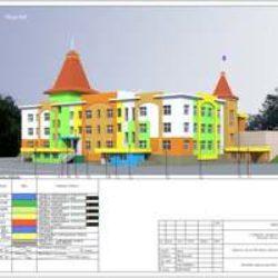 Типовой проект ДОУ на 200 мест (г. Кемерово)