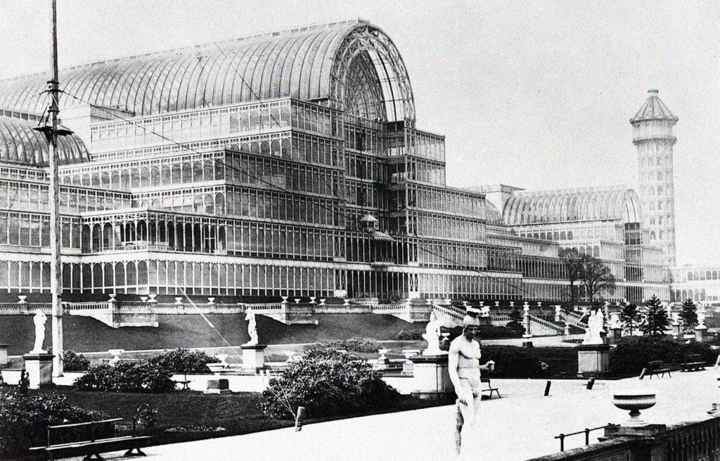 Хрустальный дворец - инновации Джозефа Пакстона