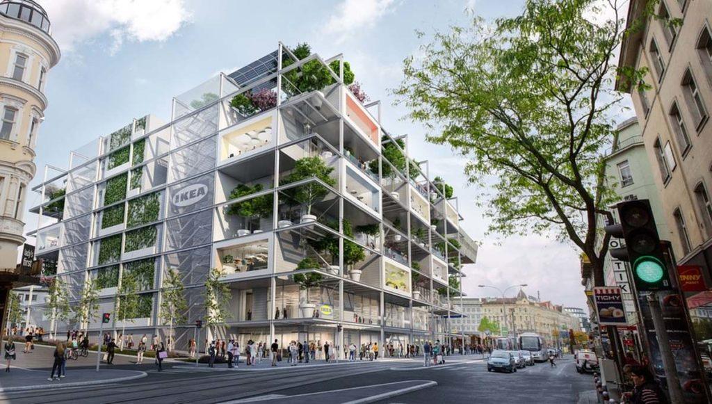 Новая концепция торговых центров от IKEA