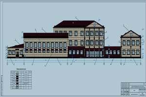Типовой проект школы на 600 мест