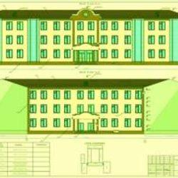 Типовой проект школы на 720 мест