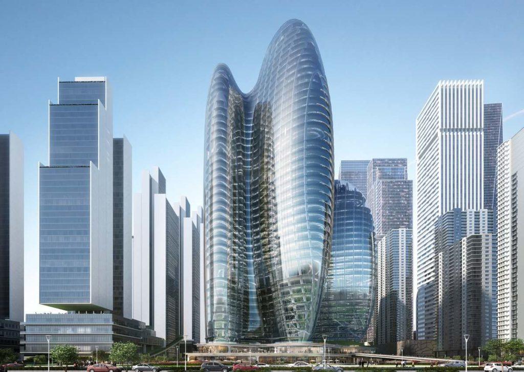 Штаб-квартира OPPO в Шэньчжэне zaha hadid architects