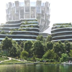 В Китае близится к завершению застройка острова Единорога