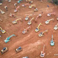 В Китае за 6 дней будет выстроена больница на 1000 мест