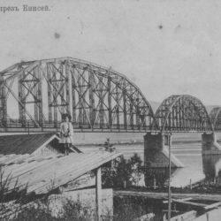История строительства первого железнодорожного моста через Енисей