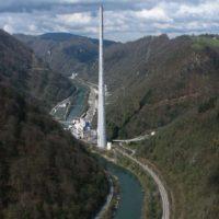 Самая высокая труба Европы в неожиданном месте