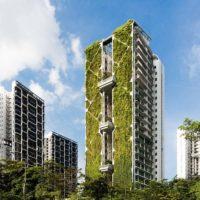 Tree House — здание с самым большим зеленым фасадом в мире