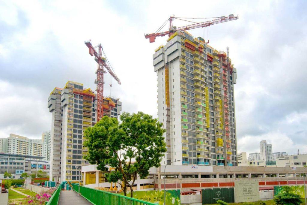 В Сингапуре - самые высокие здание в мире из сборного железобетона