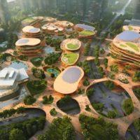 MVRDV разрабатывает проект района, стилизованного под горное плато