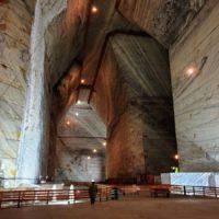 Соляная шахта Slanic Prahova в Румынии — гигантские подземные пространства
