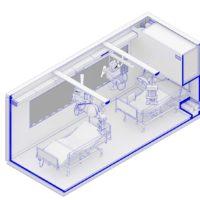 В Милане возводят мобильный госпиталь по проекту Carlo Ratti Associati