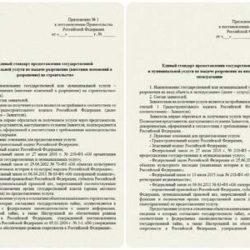 Единые стандарты предоставления услуг по выдаче разрешения (внесению изменений в разрешение) на строительство и на ввод объекта в эксплуатацию