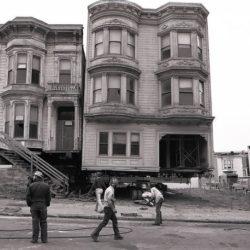 История «переезда» викторианских особняков Сан-Франциско