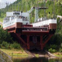 История уникального сооружения: судоподъемник Красноярской ГЭС