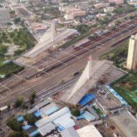 Поворотный мост в Китае, который установил сразу два мировых рекорда
