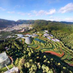 Проект Национального ботанического музея разрабатывают для города Куньмин (Китай)