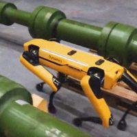 Собака-робот становится частью строительных технологий американской строительной компании Swinerton