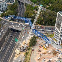 Пешеходный путепровод Lachlan's Line в Сиднее