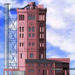 Реконструкция водонапорной башни в Санкт-Петербурге
