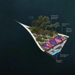 Sea Line Park – плавучее мостовое сооружение в Мельбурне