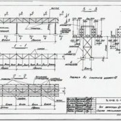 Серия 3.016.2-12. Металлические конструкции проходных и непроходных кабельных эстакад