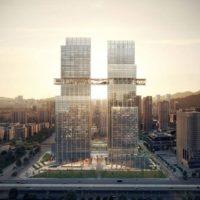 В Китае проектируют новый мега-комплекс CMG Qianhai
