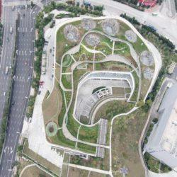 Здание-холм в Китае