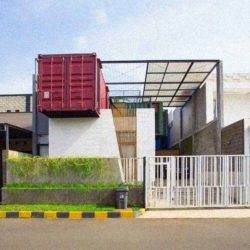 Контейнер для городской жизни в Индонезии
