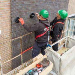 В Нидерландах на фасаде здания установлены солнечные панели нового типа — «Mimic»