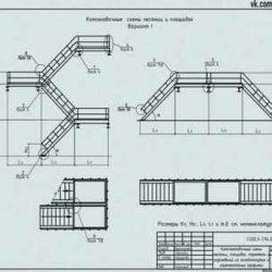 Серия 1.450.3-7.94 Лестницы, площадки, стремянки и ограждения стальные для производственных зданий промышленных предприятий в формате DWG и PDF
