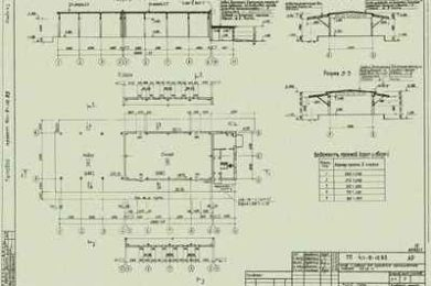 Типовой проект 411-9-10.85. Склад с навесом для хранения промышленных товаров 500 м2