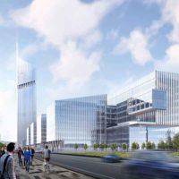 В Москве строят здание Национального космического центра высотой 248м