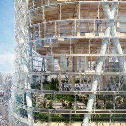 В Сиднее строится самая высокая в мире гибридная башня из дерева и стали