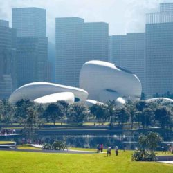 Внеземная архитектура MAD Architects для набережной в Шэньчжэне, Китай