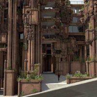 Городские скалы: художественная школа в Глазго