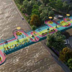 Как сделать из пешеходного моста городскую достопримечательность